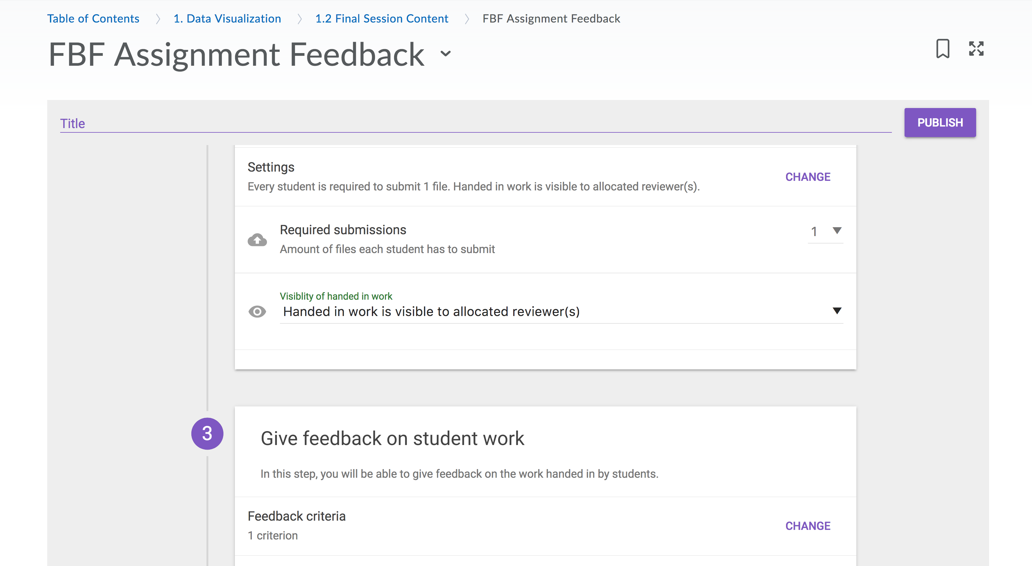 how to give assignment to students